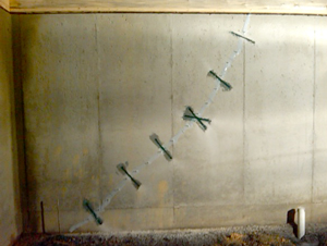 basement crack repair maryland - Fixing Foundation Cracks