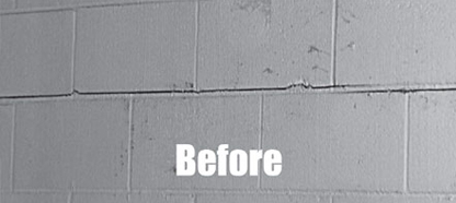 fortress carbon fiber strapping - Fixing Foundation Cracks